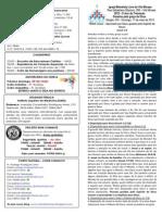 Boletim - 17 de Maio de 2015