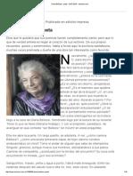Diana Bellessi, Poeta - 24.07.2010 - Lanacion
