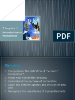 Chapter1 - Nature of Humanities