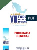 VIII Foro Nac de Turismo