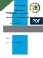 Proyecto Lab, Geo FIMA