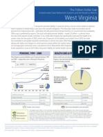 Trillion Dollar Gap Fact Sheets West Virginia
