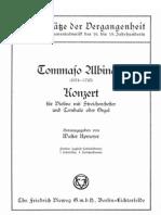 Albinoni T Concierto en Do Mayor Allegro Violino Cordas e Cravo