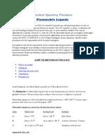 Flammable Liquids Dd
