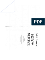 Paul Feyrabend Przeciw Metodzie Fragment