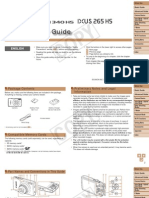 Canon Ixus 265 HS Manual