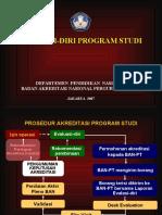 Slide Pedoman Evaluasi Diri-2007