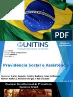 Trabalho de Previdência Social e Assistencia Social - Ok