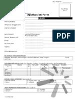 Form Biodata Dan Kartu Peserta ODP 10 - Tower Bersama Group