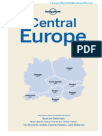 Central Europe 10 Contents