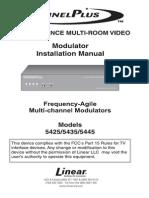 ChannelPlus. 5425. Two-Channel Video Modulator