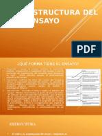 Estructura Del Ensayo 2