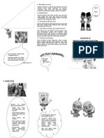 1. Leaflet Jajanan Sehat Dan Tidak Sehat