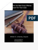 How to Hire the Best Drug Offense Lawyer for You Case