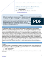 Effect of 4-Weeks of Surya Nadi Pranayama (Right Nostril Berating) on Respiratory Parameters
