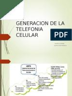 Generacion de Telefonia Movil