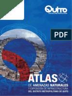 Atlas de Amenazas Naturales del Distrito Metropolitano de Quito 2014
