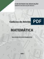 atividade matemática 5 ano