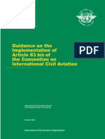 ICAO Cir 295 (Implementation of Art 83 Bis)