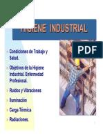 Higiene Industrial Introducción