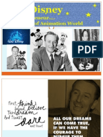 Walt Disney, An Entrepreneur