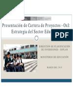 minedu Obras Por Impuestos.. 2015