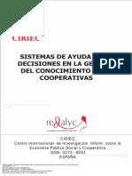 Sistemas de Ayuda a Las Decisiones en La Gesti n Del Conocimiento y Las Cooperativas 1 to 23