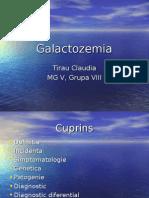 Galactozemia  genetica prezentare