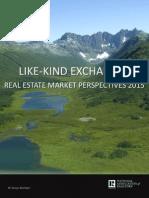 Like-Kind Exchange Survey