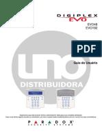 Manual Do Usuário - Digiplex EVO
