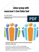 Create a Colour Group With Illustrator's Live Color Tool Illustrator Creative Bloq