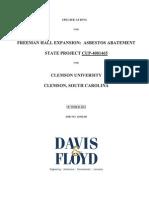 Freeman Asbestos Bid Set Project Manual