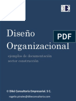 Diseno Organizacional Sector Construccion