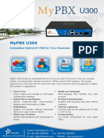 MyPBX U300 Datasheet En