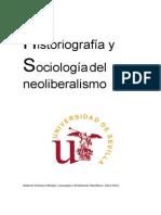 Historiograf a y Sociolog a Del Neoliberalismo
