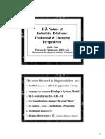 1-2. Shrd. Nature of Tradl. IR & New 2 IR