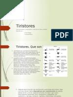 Tiristores resumen