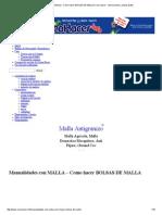 Manualidades con MALLA - Como hacer BOLSAS DE MALLA _ Como hacer - Instrucciones y planos gratis.pdf