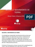 Obras Viales Urbanas - Movimiento de Tierra