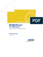 Manual Allot Netenforcer AC1010