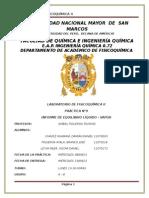 INFORME N°9 EQUILIBRIO LIQUIDO - VAPOR