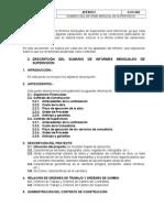 Sumario Del Informe Mensual de Supervisión