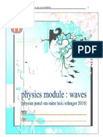 Physics Module Waves