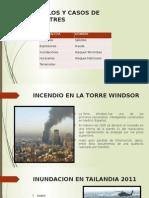 Ejemplos y Casos de Desastres