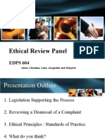 edps 604 group 4 pp ethical review ppt version