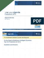 07The CIO Agenda Predictions 201-IDC-Por Alejandra Mendoza