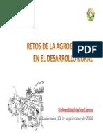 Retos de La Agroecologia por Jhon J. Monje)