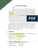 modelo de acta de inicio de juicio oral NCPP