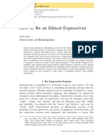 How to Be an Ethical Expressivist