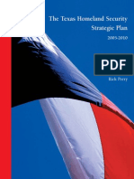 Perry's 2010 Strategic Plan for Homeland Security